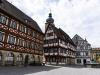 Am Rathausplatz in Forchheim